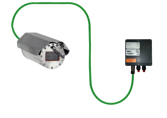 ExCam IPQ1785: connected to junction box ExTB3