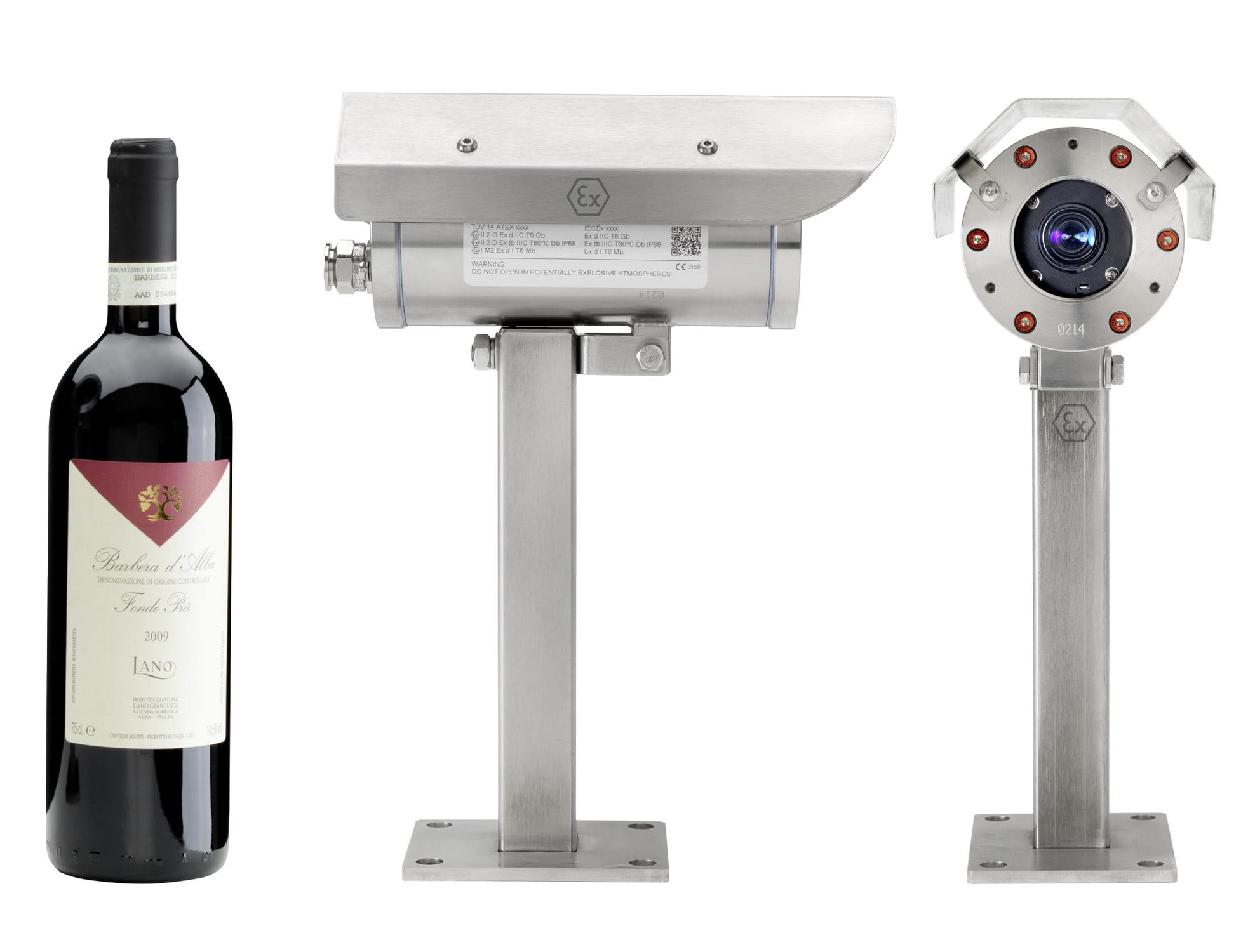 ExCam IPM3014 - Ex-CCTV Network Camera with Fix Lens