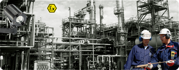 chemical industry, chemical plant, pharmaceutical plant, cctv system, explosion proof camera